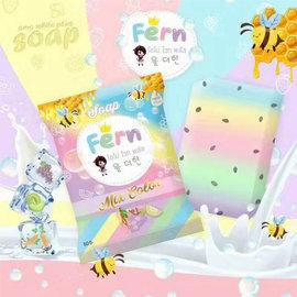 泰國 Omo White Plus 彩虹水果皂^(70g^)~美麗販售機~
