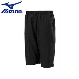 ~美津濃MIZUNO~32TB655209(黑)Slim Fit合身版素色平織 短褲