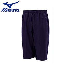 ~美津濃MIZUNO~32TB655214(深丈青)Slim Fit合身版素色平織 短褲