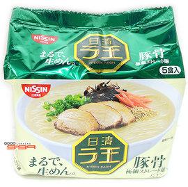 【吉嘉食品】日清拉王豚骨拉麵 1封5入175元,日本進口,另有海鮮杯麵,不倒翁麵{4902105107355:1}