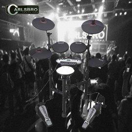 【非凡樂器】CARLSBRO CSD130 攜帶型可摺疊電子鼓組 全配備加購組(含音箱)