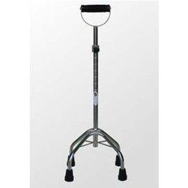 均佳手杖~不鏽鋼四腳柺JCS~005A^(大爪^)