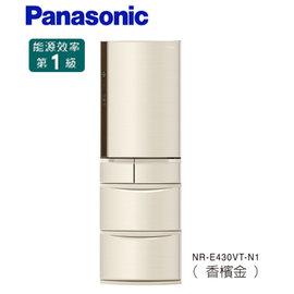 展示機 ~Panasonic 國際~430公升旗艦ECONAVI五門變頻冰箱^(NR~E4