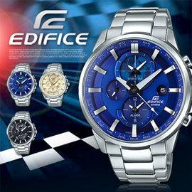 EDIFICE 智慧工藝結晶賽車錶 ETD~310D~2A 世界時間 ETD~310D~2