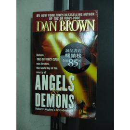 ~書寶 書T2╱原文小說_KQU~Angels Demons_Dan Browm