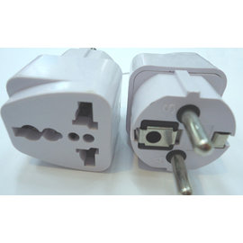 旅遊 德標 / 歐標 / 韓國 插座轉接頭 萬能插頭轉換器 [MPO-00011]