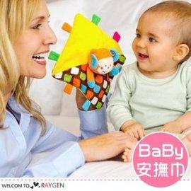 小猴子安撫巾親子互動手偶 寶寶玩具【HH婦幼館】