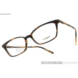 OLIVER PEOPLES 光學眼鏡 SCARLA 1003 ^(流線棕^) 極致工藝百