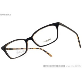 OLIVER PEOPLES 光學眼鏡 SCARLA 1309 ^(黑~琥珀^) 極致工藝