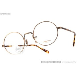 OLIVER PEOPLES 光學眼鏡 WELDEN 5124 ^(金~琥珀^) 文青風百