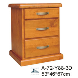 A~72~Y88~3D 3抽櫃 床頭櫃~藝所 家飾館  傢俱  燈飾  壁飾  擺飾  時