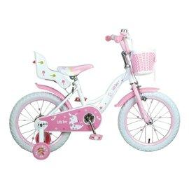 【紫貝殼】『SL10-15』【CHING-CHING親親】16吋艾比鹿腳踏車 粉 (SX200)