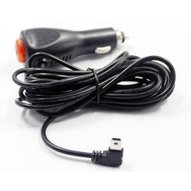 新竹市 卓也合 行車記錄器 mini usb 5V2A 車充 車載 電源線 點煙器充電線 3.5米 加長車充線 **彎頭-帶開關**  [CII-00015]