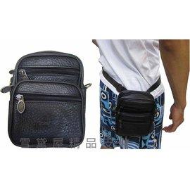 ^~雪黛屋^~Zhen~hua 腰包5.5吋手機穿過皮帶外掛肩背斜側隨身物品 100^%