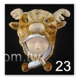 ~派對王國~舞會道具.聖誕帽 麋鹿服裝.麋鹿道具.各類動物帽 麋鹿帽