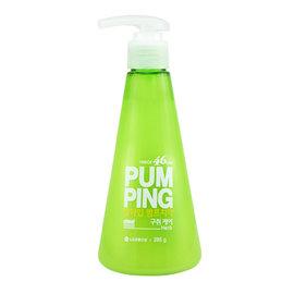 ~韓國 LG~PERIOE PUMPING 按壓式牙膏~ 綠色 清新草本^(口氣清新^)