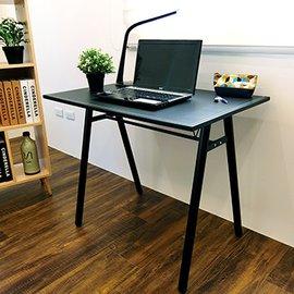 ↘原 1599~Amos~環保粗管90公分仿馬鞍A型桌面工作桌 書桌