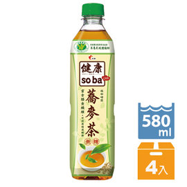 光泉 健康soba蕎麥茶580ml~4入