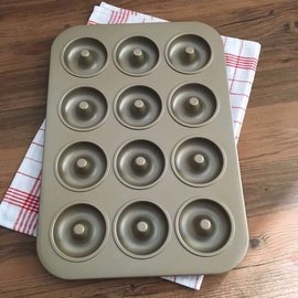 ~B141~烘焙工具 12連金色甜甜圈模 乳酪蛋糕模 磅蛋糕模 麵包模 海綿蛋糕模 慕斯蛋