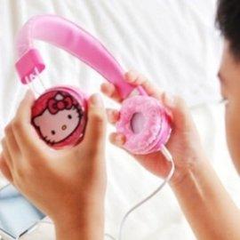 美麗大街~104100113~三麗鷗可愛 Hello Kitty 耳罩式耳機