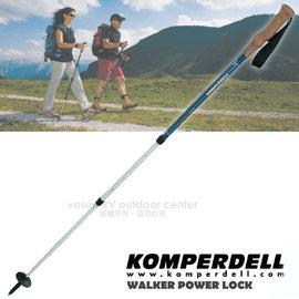 【KOMPERDELL 奧地利】HIGHLANDER CORK 7075 鋁合金軟木握把健行登山杖-無避震 (僅260g.140cm)(非LEKI)/單支銷售 1742441-10