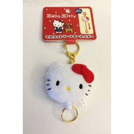 ^^燕子部屋 ^^ 三麗鷗 ~凱蒂貓 Hello Kitty~毛絨 鑰匙圈伸縮