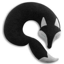 11月 ~原 2380德國萊思綺Leschi旅行枕頭 辦公室、教室午休枕頭~ 狐狸 ^(黑