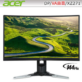 acer XZ271 27型VA曲面寬螢幕
