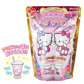 Heart Hello Kitty 凱蒂貓DIY水蜜桃飲料^(附杯子^) 10g