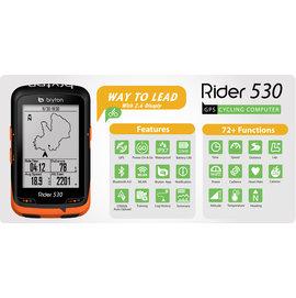 崇越單車  Bryton Rider 530T 中文無線連網自行車導航記錄器 含 F~M