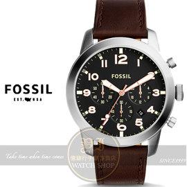 FOSSIL美國品牌PILOT 54城市型男計時腕錶FS5143 貨