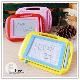【Q禮品】B2990 磁性寫畫板-小/磁力畫板/留言板/寫字板/塗鴉板/繪畫板/兒童畫板/可重覆使用