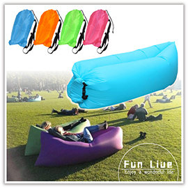 【Q禮品】B2996 熱狗堡懶人充氣床/隨身旅遊/懶人沙發/充氣墊/快速充氣/沙灘椅/沙發床/充氣椅/水上/野餐