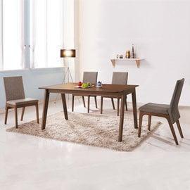 ~ 屋~^~UZ6^~詠昶派克4.3尺餐桌UZ6~381~1 免組裝 免 餐桌椅