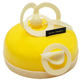 Mita米塔生日蛋糕~6吋蒂爾蕾絲~^~ ^~ 限定芒果蛋糕^(限門市 ^~^)