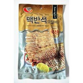 ~易購樂~韓國 超口感魷魚絲 ^(原味^)  附沾醬 一整片的魷魚喔 真的非常好吃