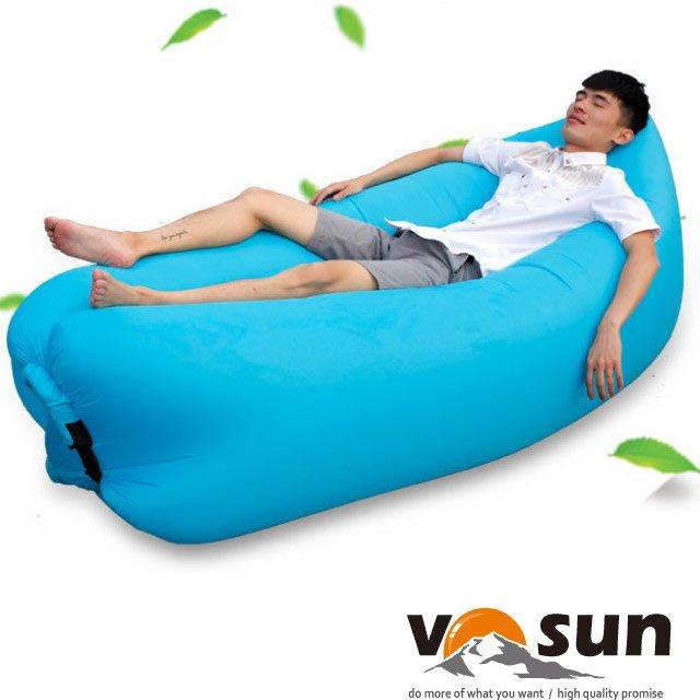 【VOSUN】快速充氣懶人充氣沙發床(10秒快速充氣.承重200kg).空氣沙發.空氣床.懶人充氣袋.懶人折疊沙發.水上沙發.懶骨頭/VO-035