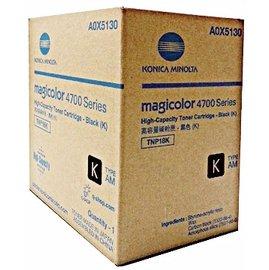 Konica Minolta 黑色高容量碳粉匣 A0X5130  :4750dn 4750