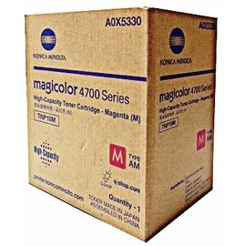 Konica Minolta 紅色高容量碳粉匣 A0X5330  :4750dn 4750