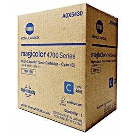 Konica Minolta 藍色高容量碳粉匣 A0X5430  :4750dn 4750