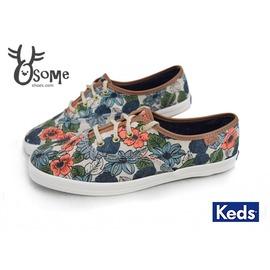 Keds 女款帆布鞋 花系 Taylor Swift泰勒斯 休閒鞋 H9803◆OSOME