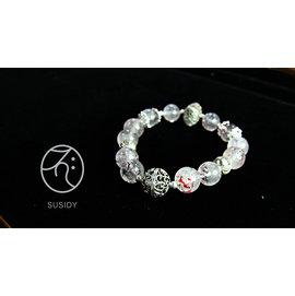 SusidyDesign ~ 超級七 Superseven 手珠 水晶 銀飾