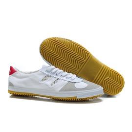 白色36正品雙星排球鞋 鞋帆布鞋武術功夫鞋輕便防滑透氣牛筋底男女款