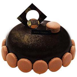 Mita米塔生日蛋糕~6吋卡龍一吉~^~ ^~ 巧克力蛋糕 酸甜蔓越莓^(門市 ^~^)