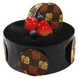 Mita米塔生日蛋糕~6吋玫斯西里~^~新品^~ 濃郁巧克力蛋糕遇上熱帶水果餡^(門市 ^