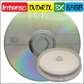 絕版、錸德外銷A級 Intenso DVD R DL 8X  8.5GB 遊戲 片 空白燒