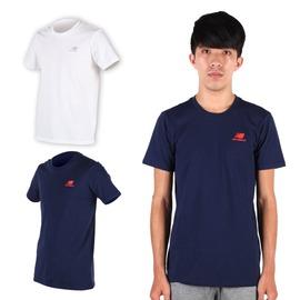 NEW BALANCE男短袖T恤(免運 路跑 慢跑 健身 NB【03312393】≡排汗專家≡