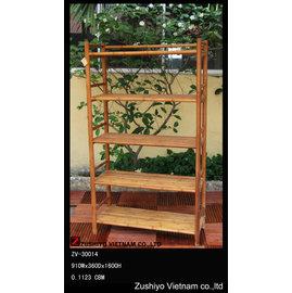 ZV~30014 竹製層架 收納架 置物架