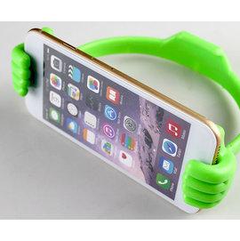 iphone5/6 i9300 N7100 ipad 平板 大拇指手機支架/懶人支架 (帶鋼圏) [GRO-00011]