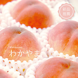 ~旬果屋~和歌山產 水蜜桃 6入